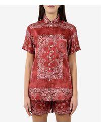 Golden Goose Deluxe Brand - Camisa Rojo - Lyst