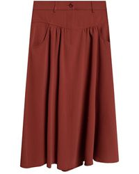 See By Chloé - Gathered skirt - Lyst