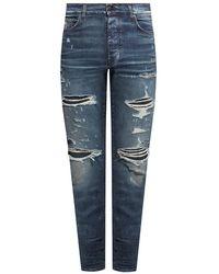 Amiri Distressed Jeans - Blauw