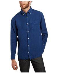 NN07 Levon Shirt - Blauw