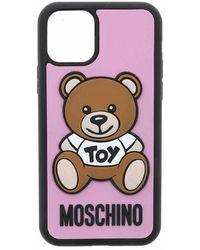 Moschino Teddy Iphone 11 Pro - Roze
