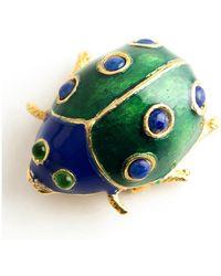 Kenneth Jay Lane Vintage - Turtle Brooch - Lyst