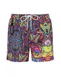 Horspist Swim Shorts Kite Indy - Meerkleurig