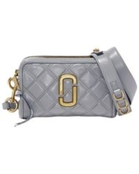 Marc Jacobs The Quilted Softshot Bag - Grijs