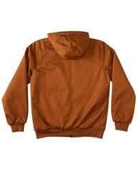 DC Shoes Earl padded jacket - Marrone