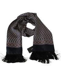 Dolce & Gabbana - Fringe Neck Wrap Shawl Scarf - Lyst