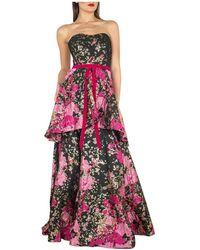 Marchesa Dress - Rosso