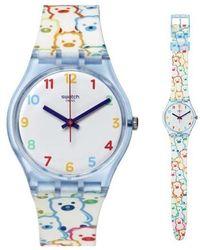 Swatch Gz309 Watch - Wit