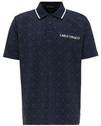 carlo colucci Polo C3047 Azul