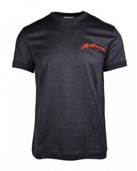 Alexander McQueen - Logo T-shirt - Lyst