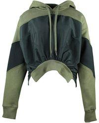 N°21 Sweat à capuche - Verde