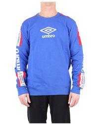 Umbro Sweatshirt 19etpu0176 - Blauw