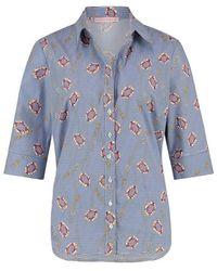 Studio Anneloes Odette stripe blouse - Blu