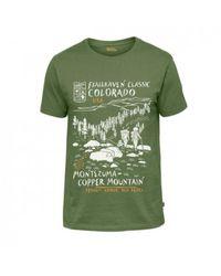 Fjallraven Classic Us T-shirt - Groen