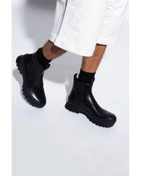 Jil Sander Chelsea boots Negro