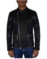 Philipp Plein Biker jacket - Nero