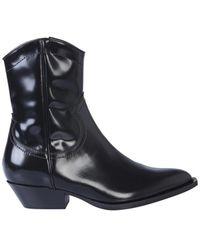 Philosophy Di Lorenzo Serafini Texas Boot - Zwart