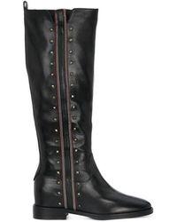 Elvio Zanon Selleria Boots Negro