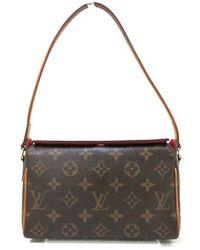 Louis Vuitton Tweedehands Récital - Bruin