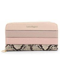 Laura Biagiotti Wallet Perrier_505-67 - Rosa