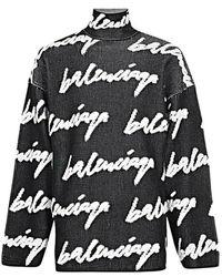 Balenciaga Le Pull - Zwart