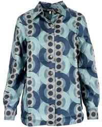 Maliparmi Camicia Jm214430107 - Blauw