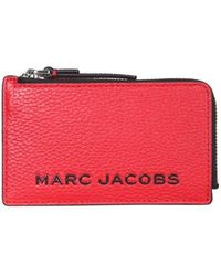 Marc Jacobs Small The Bold Wallet - Rood