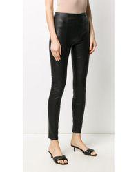 Karl Lagerfeld Biker pants - Noir