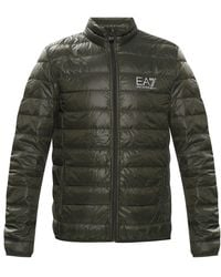 EA7 Quilted jacket - Grün