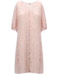 Obey Dress - Roze