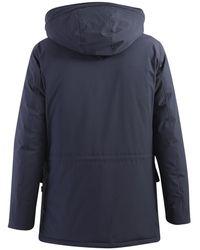 Yes-Zee Parka coat Azul