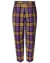Vivienne Westwood Checked trousers - Multicolore