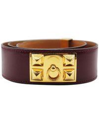 Hermès Cintura Medor - Usato in buone condizioni - Rosso