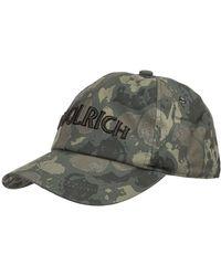 Woolrich Men's Cotton Hat Baseball Cap - Groen