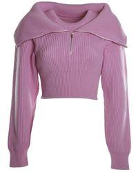 Jacquemus Sweater - Rosa