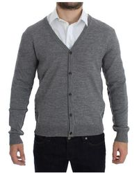 John Galliano - Button Down Logo Cardigan - Lyst
