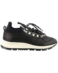 Philippe Model Rossignol Leather Sneakers - Zwart