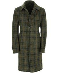 Lubiam Raglan coat - Vert