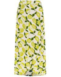 FABIENNE CHAPOT Cora Skirt Citron - Groen