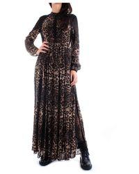 John Richmond Rwa19256Ve Dress Women Leopard - Neutre