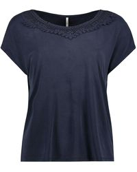 ONLY Mix Top - Blauw