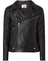 Arma Pedro leather jacket - Noir