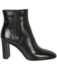 Santoni Ankle Boots - Zwart