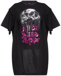 DIESEL T-shirt stampata - Nero