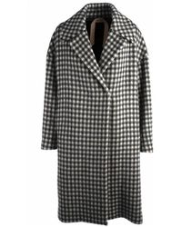 N°21 Coat - Wit