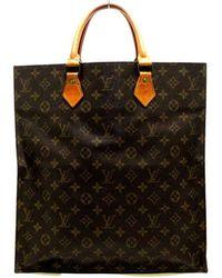 Louis Vuitton Sac plat Marrón - Negro