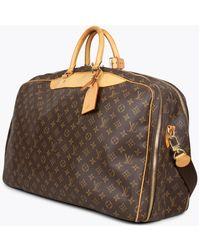Louis Vuitton Bolsa de viaje Alizé 2 Poches Marrón