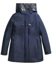 Fay Coat - Blau