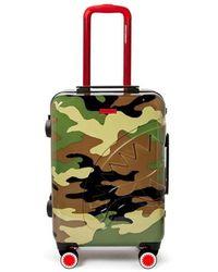 Sprayground Check&Camouflage Trolley - Verde