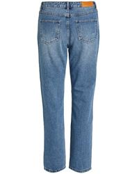 Vila Viannabel Rwre Jeans Azul